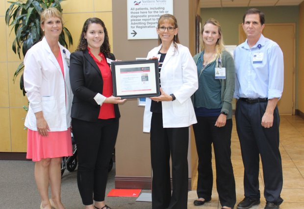 Northern Nevada Medical Center Receives Mission: Lifeline Gold Receiving Achievement Award