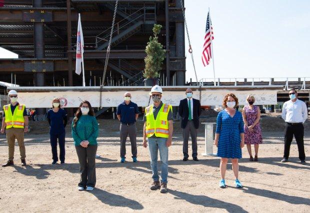Northern Nevada Sierra Medical Center Celebrates Construction Milestone
