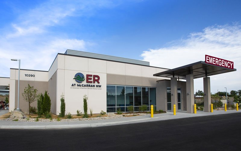 NOW OPEN – ER at McCarran NW A new emergency room is coming to McCarran NW in Reno on August 18!
